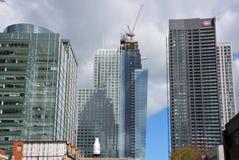 Nowi construtions budynki Obrazy Royalty Free