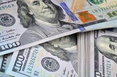 Nowi dolarowi banknoty Obraz Royalty Free