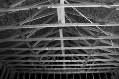 Nowi Domowi budowa schodki W południowych zachodach Zdjęcia Royalty Free