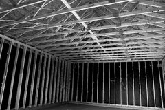 Nowi Domowi budowa schodki W południowych zachodach Obrazy Stock
