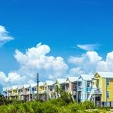 Nowi domy po huraganowy Katrina Zdjęcia Royalty Free