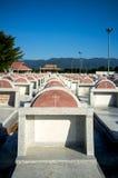 Nowi gravestones Chantaburi, Tajlandia Fotografia Stock