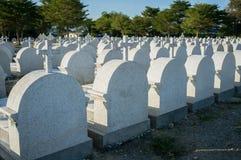 Nowi gravestones Chantaburi, Tajlandia Obrazy Stock