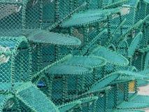 Nowi homarów garnki Brogujący Na schronieniu zdjęcie royalty free