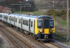 Nowi 350 klasy elektryczny pociąg, zachodniego wybrzeża Mainline Zdjęcia Royalty Free