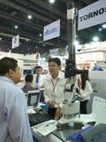 nowi mierzy narzędzia w Asiean metallex bitec 2014 bangna, Bangkok Obraz Stock