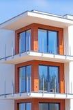 Nowi mieszkania dla sprzedaży Obrazy Royalty Free