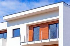 Nowi mieszkania dla sprzedaży Zdjęcie Stock