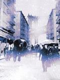 nowi śniegi York Fotografia Royalty Free