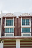 Nowi nowożytni mieszkania Obraz Royalty Free