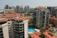 Nowi Nowożytni kondominium budynki w Rio De Janeiro Zdjęcie Royalty Free