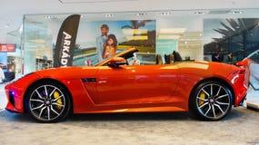 Nowi Odgórni sportów samochody, Jaguar Obrazy Royalty Free