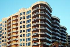 Nowi plaży strony mieszkania własnościowe obraz royalty free
