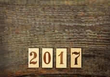 Nowi 2017 rok Obrazy Stock