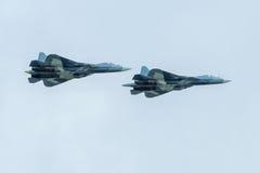 Nowi Rosyjscy pokolenie wojownicy T-50 Zdjęcie Royalty Free