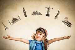 Nowi siedem cudów świat. Podróży pojęcie Obraz Stock