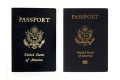 nowi starzy paszporty my Obraz Royalty Free
