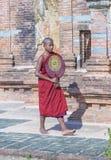 Nowicjusza michaelita w bagan Myanmar Fotografia Stock