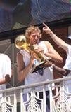 Nowitzki nella parata dei campioni dei non conformisti di NBA Immagine Stock Libera da Diritti