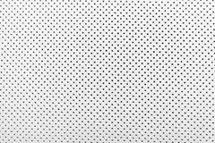 Nowożytny luksusowy Samochodowy białej skóry wnętrze Część dziurkowaci rzemienni samochodowego siedzenia szczegóły Biały Dziurkow obrazy royalty free