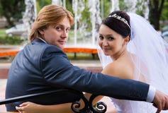 nowożeńcy zdjęcia stock