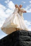 nowożeńcy Fotografia Stock