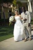 nowożeńcy chodniczek fotografia stock