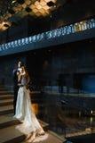 nowożeńcy młodzi obraz royalty free