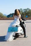 Nowożeńcy para zdjęcia stock