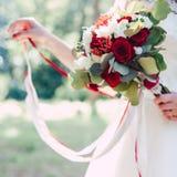 Nowożeńcy ręka Obraz Royalty Free