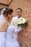 nowożeńcy target1970_1_ fotografia royalty free