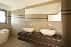 Nowożytna łazienka zdjęcie royalty free