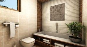 Nowożytna łazienka ilustracja wektor