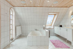 Nowożytna łazienka Fotografia Royalty Free