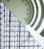 nowożytna abstrakcjonistyczna architektura obraz royalty free