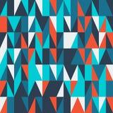 Nowożytna abstrakcjonistyczna geometryczna pokrywa Minimalny kolorowy modny szablonu projekt royalty ilustracja