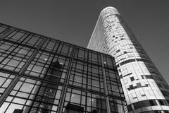 Nowożytna architektura i budynki w Paryż Obrazy Stock