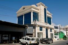 Nowożytna architektura - Limassol, Cypr obrazy royalty free