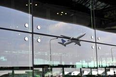 Nowożytna architektura lotnisko Fotografia Royalty Free