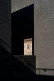 Nowożytna architektura Szekspirowski teatr fotografia stock