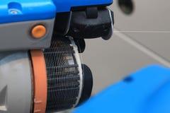 Nowożytna automatyczna przędzalniana maszyna Obraz Royalty Free