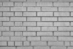 Nowożytna Biała ściana z cegieł Grunge tła tekstura Zdjęcie Royalty Free