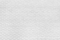 Nowożytna Biała ściany z cegieł tekstura, tło i zdjęcia stock