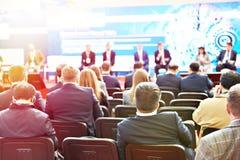 Nowożytna biznesowa konferencja zdjęcie stock