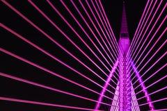Nowożytna Bridżowa architektura Obraz Royalty Free