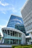 Nowożytna budynek biurowy architektura w Putrajaya, Malezja fotografii wziąć 15/05/2017 Obrazy Stock