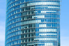 Nowożytna budynek biurowy fasada, drapacz chmur powierzchowność Zdjęcia Royalty Free
