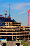 nowożytna budynek duży budowa Obrazy Stock