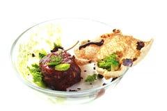 Nowożytna Cząsteczkowa kuchnia Obrazy Royalty Free