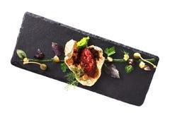 Nowożytna Cząsteczkowa kuchnia Fotografia Stock